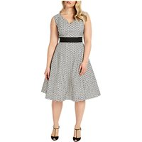 Studio 8 Celeste Dress, Black/White