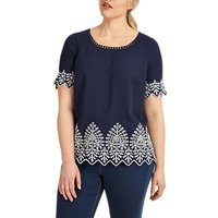 shop for Studio 8 Lily Top, Navy at Shopo