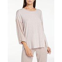 DKNY City Stripes 3/4 Sleeve Pyjama Top, Shell