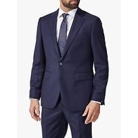 Chester by Chester Barrie Hopsack Wool Tailored Suit Jacket, Navy