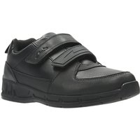 Clarks Children's Gloforms Maris Fire Junior School Shoes, Black