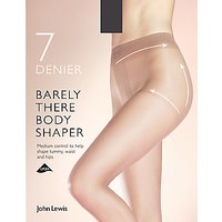 John Lewis & Partners 7 Denier Barely There Shaper Tights