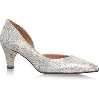 Carvela Comfort Amy Court Shoes, Gold Leather