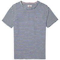 Tommy Hilfiger RLX Stripe Crew T-Shirt, Ensign Blue/Multi