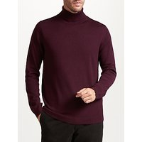 John Lewis Merino Roll Neck Jumper