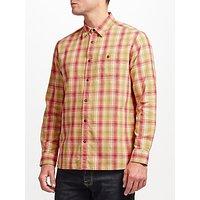 JOHN LEWIS & Co. Bright Palette Check Shirt, Yellow