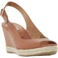 Dune Klick Wedge Heeled Sandals