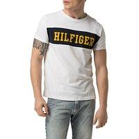 Hilfiger Denim Crew Neck Basic T-Shirt, Classic White