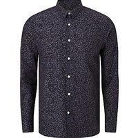 J.Lindeberg Daniel Refine Denim Shirt, Mid Blue