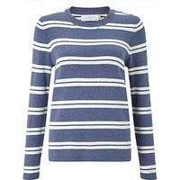 Collection WEEKEND by John Lewis Stripe Sweater, Blue/White