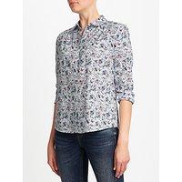 Collection WEEKEND by John Lewis Floral Garden Bird Print Shirt, Multi