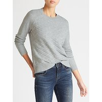 Collection WEEKEND by John Lewis Textured Front Sweater, Grey