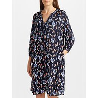 Collection WEEKEND by John Lewis Pansy Bloom Dress, Navy/Multi