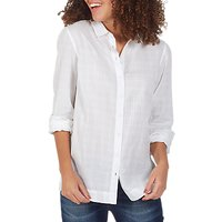 Fat Face Rachel Relaxed Shirt, White