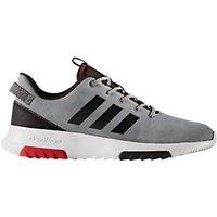Adidas Cloudfoam Racer TR Men s Trainers  Grey Black Scarlet
