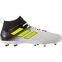 Adidas Ace 17.3 Primemesh AG Mens Firm Ground Football Boots, White/Black/Yellow
