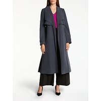 Bruce by Bruce Oldfield Twill Trench Coat, Navy