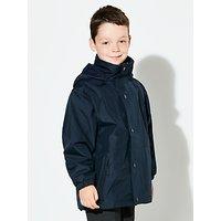 John Lewis and Partners Reversible School Coat, Blue