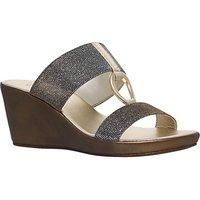 Carvela Comfort Salt Wedge Heeled Sandals