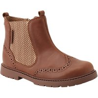 Start-rite Childrens Leather Chelsea Boots, Tan