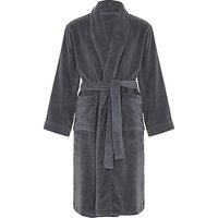 John Lewis and Partners Super Soft and Cosy Unisex Cotton Bath Robe