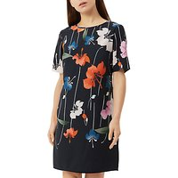 Fenn Wright Manson Petite Rhodes Dress, Navy/Multi