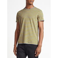 Kin by John Lewis Breton Stripe T-Shirt, Grey/Yellow