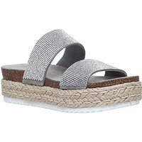 Carvela Karry Flatform Sandals, Grey
