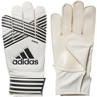 Adidas Ace Junior Goalkeeper Gloves, White/Core Black