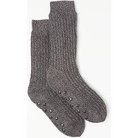 John Lewis Lounge Socks  Grey