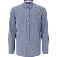 JOHN LEWIS & Co. Japanese Check Shirt, Indigo