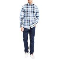 Tommy Hilfiger Jamieson Check Cotton Shirt, Shirt Blue Heather/Maritime Blue