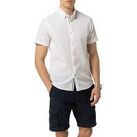 Tommy Hilfiger Dobby Short Sleeve Shirt, Bright White