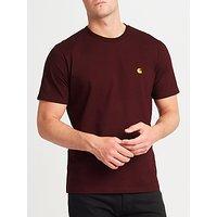 Carhartt WIP Chase T-Shirt, Burgundy