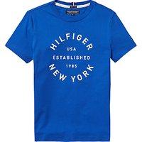 Tommy Hilfiger Boys Logo T-Shirt, Blue