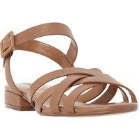 Dune Insley Cross Strap Sandals