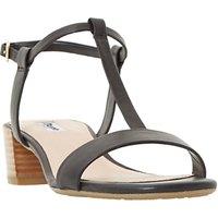 Dune Issie T-Bar Block Heeled Sandals