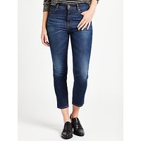 Weekend MaxMara Parole Cropped Skinny Jeans, Midnight Blue