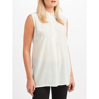 Weekend MaxMara Dafne Sleeveless Jersey Top, White