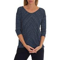 Betty & Co. Chevron Striped T-Shirt, Classic Blue