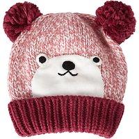 John Lewis Childrens Novelty Bear Hat, Brown