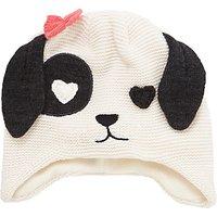 John Lewis Children's Novelty Dalmatian Trapper Hat, Black/White