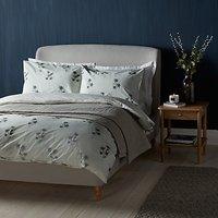 John Lewis Croft Collection Highland Thistle Print Cotton Duvet Cover and Pillowcase Set