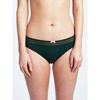 John Lewis Elle Bikini Briefs, Deep Green
