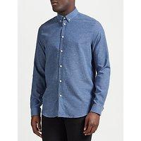 Samsoe & Samsoe Liam Long Sleeve Shirt, Light Blue Melange
