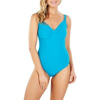 Speedo Sculpture Watergem 1-Piece Swimsuit, Blue