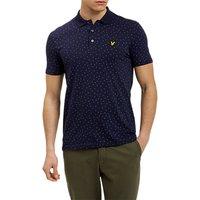 Lyle & Scott Minimal Dot Polo Shirt, Navy