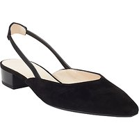 Peter Kaiser Carsta Slingback Court Shoes, Black