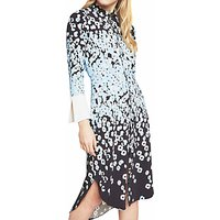 Closet Printed Shirt Dress, Multi
