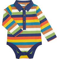 John Lewis Multi Stripe Bodysuit, Multi